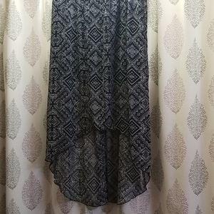Hi/lo skirt